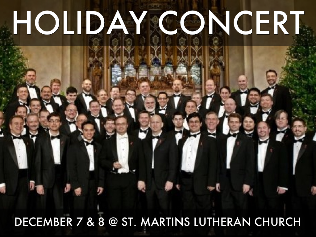 S25 Holiday Concert Ad