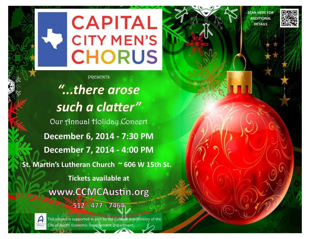 Holiday Concert Poster 2014